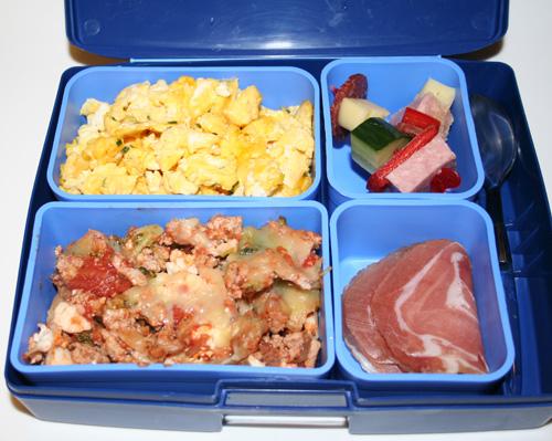 lavkarbo lunsj på jobb